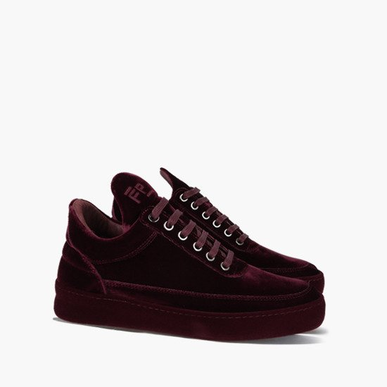 Buty damskie sneakersy Filling Pieces Low Top Plain Velvet 29727611912WSB
