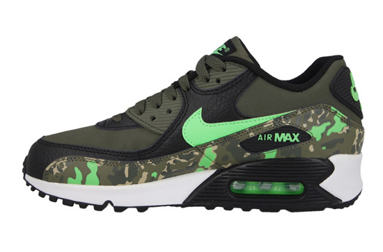 Buty damskie sneakersy Nike Air Max 90 Premium Leather (GS) 724879 003