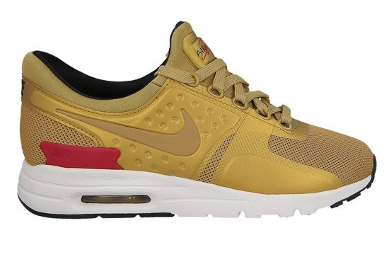 "Buty damskie sneakersy Nike Air Max Zero Qs ""Metallic Gold"" 863700 700"