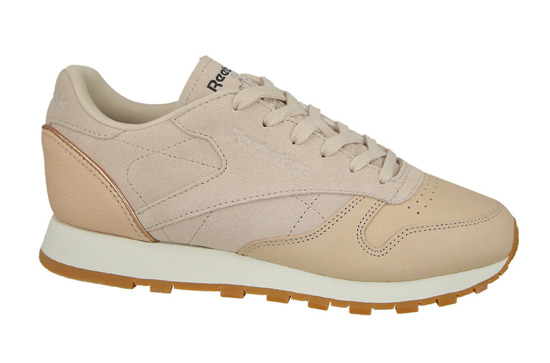 Buty damskie sneakersy Reebok Classic Leather Golden Neutrals BD3744