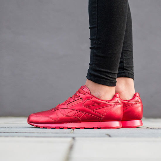 Buty damskie sneakersy Reebok Classic Leather x Face Stockholm Fashion BD1492