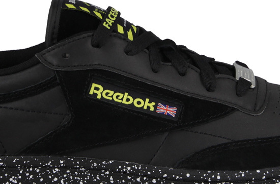 "Buty damskie sneakersy Reebok Club C 85 x Faces & Laces ""City Under Construction"" Pack BD1282"
