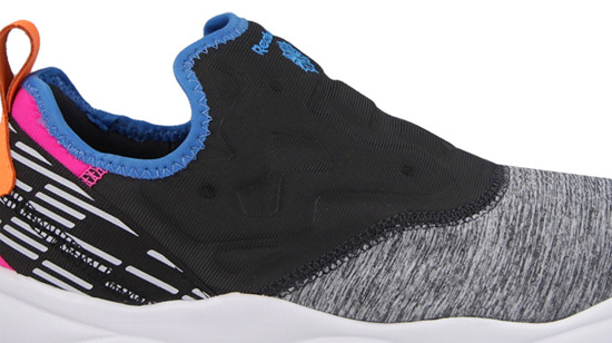 Buty damskie sneakersy Reebok Furylite Slipon Lux City Lights AQ9243