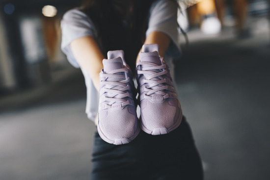 "Buty damskie sneakersy adidas Originals Equipment Eqt Support Adv ""Purple"" BY9109"
