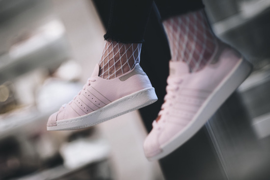 "Buty damskie sneakersy adidas Originals Superstar 80s Decon ""Icey Pink"" BZ0500"