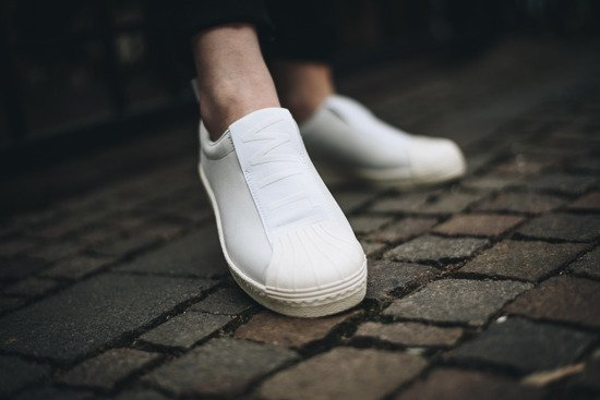 Buty damskie sneakersy adidas Originals Superstar Bw3s Slip On W CQ2518