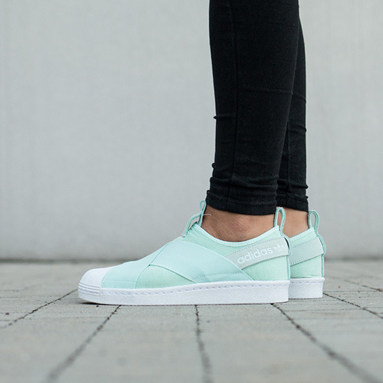 Buty damskie sneakersy adidas Originals Superstar Slip-On S76407