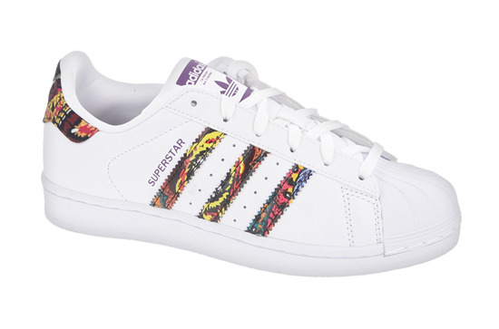 Buty damskie sneakersy adidas Originals Superstar x The Farm Company BB0686