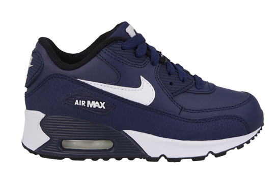 Buty dziecięce sneakersy Nike Air Max 90 Leather (PS) 724822 401
