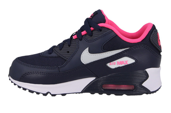 Buty dziecięce sneakersy Nike Air Max 90 Mesh (PS) 724856 400