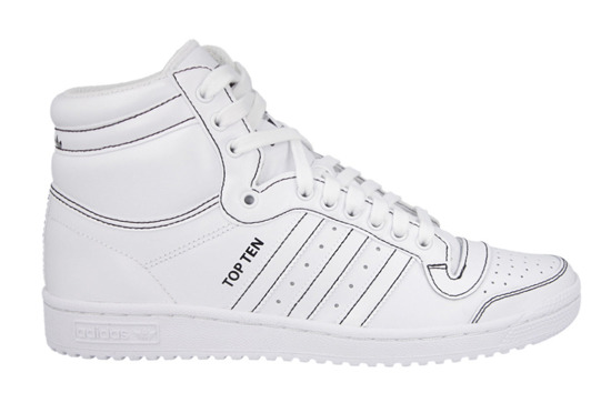 Buty męskie sneakersy Adidas Originals Top Ten Hi F37588