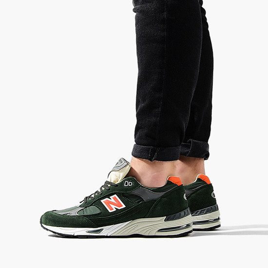 Buty męskie sneakersy New Balance Made in UK M991TNF