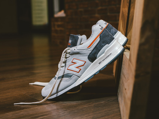 "Buty męskie sneakersy New Balance Made in USA ""Explore by Sea""  M997CSEA"