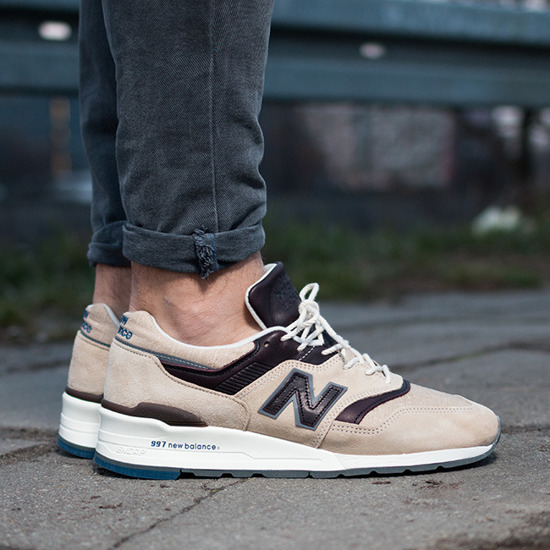 "Buty męskie sneakersy New Balance Made in USA ""Explore by Sea"" M997DSAI"