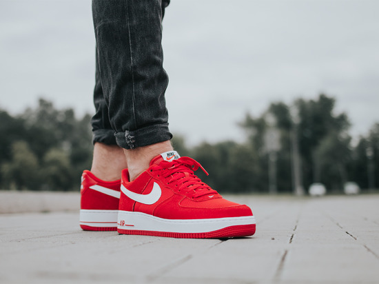 Buty męskie sneakersy Nike Air Force 1 '07 Low 820266 601