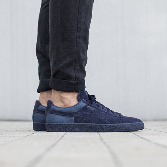 Buty męskie sneakersy Puma Suede Classic Casual Emboss 361372 02