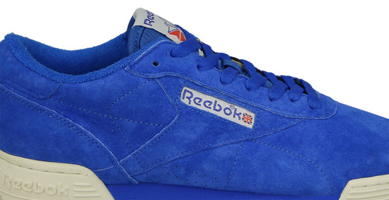 "Buty męskie sneakersy Reebok Ex-O-Fit Lo Clean Vintage ""Awesome Blue"" BD3389"