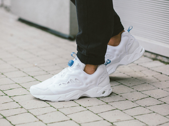 Buty męskie sneakersy Reebok Instapump Fury Road Perforated Leather AQ9977