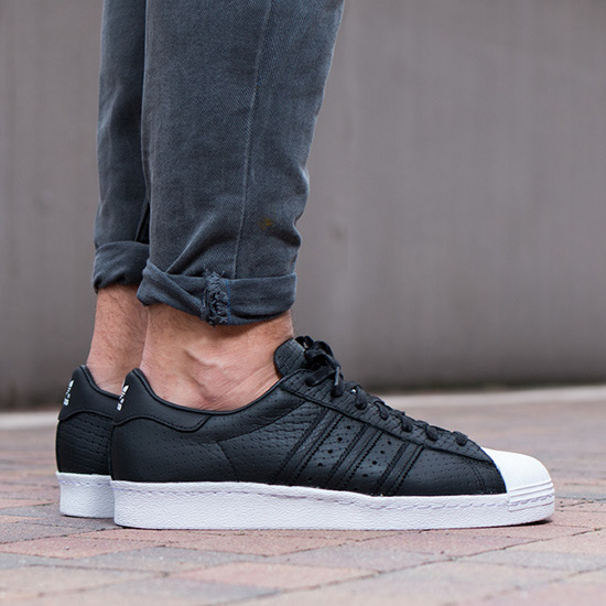 Buty męskie sneakersy adidas Originals Superstar 80s Woven S75007
