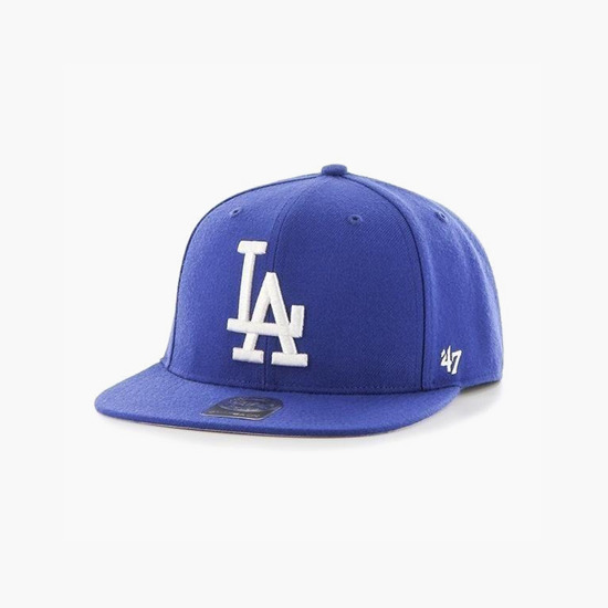 Czapka '47 MLB Los Angeles Dodgers No Shot B-NSHOT12WBP-RY