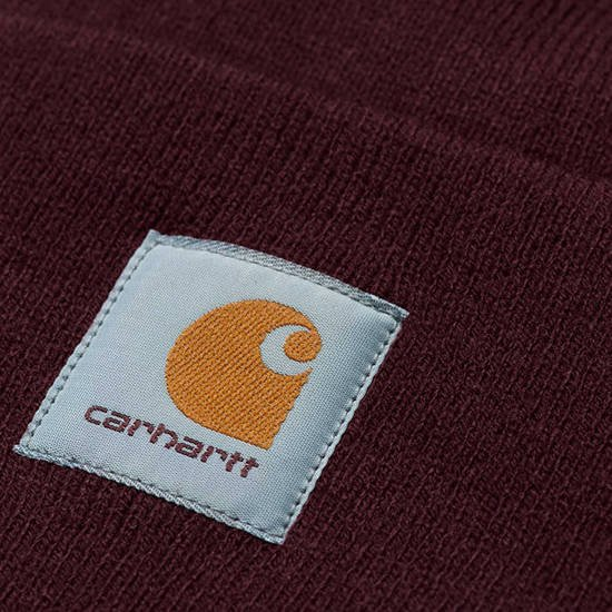 Czapka Carhartt WIP Acrylic Watch Hat I020222 BORDEAUX
