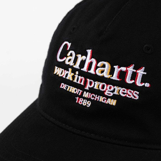 Czapka Carhartt WIP Commission Cap I028508 BLACK