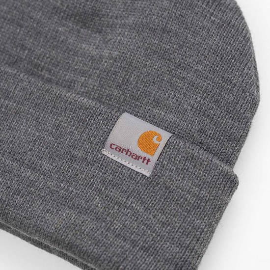 Czapka Carhartt WIP Stratus Hat Low I025741 DARK GREY HEATHER