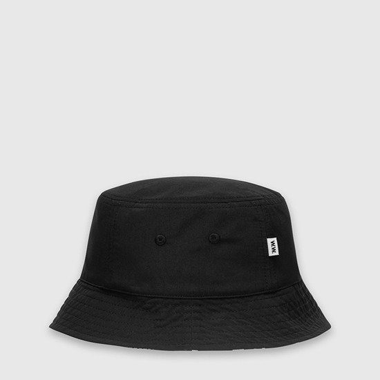 Kapelusz Wood Wood Reversible Bucket Hat 12010802-9522 BLACK