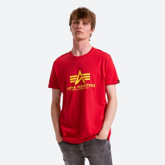 Koszulka męska Alpha Industries Basic T-Shirt 100501 328