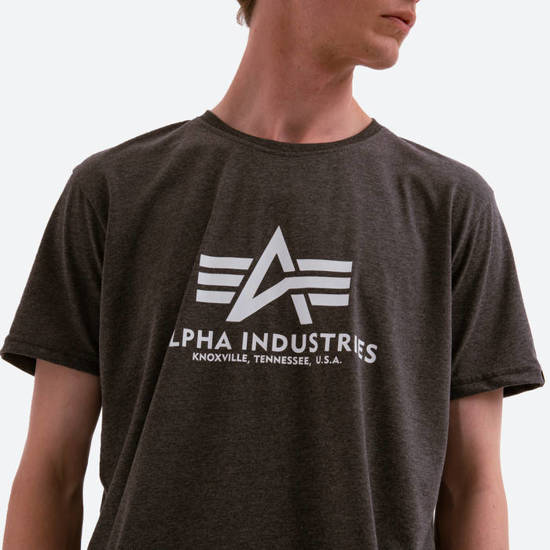 Koszulka męska Alpha Industries Basic T-Shirt 100501 597
