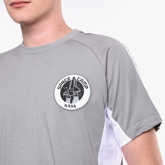 Koszulka męska Alpha Industries Space Camp T 198502 31