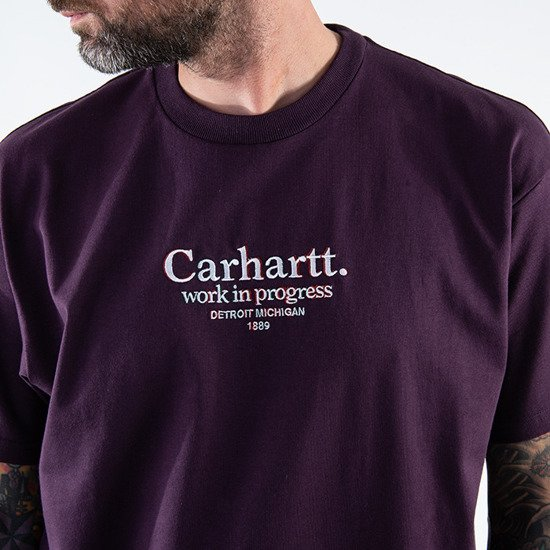 Koszulka męska Carhartt WIP Commission T-shirt I028458 BOYSENBERRY