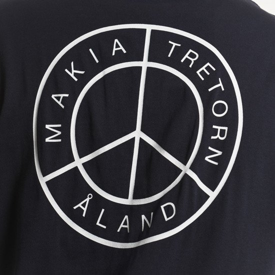 Koszulka męska Makia x Tretorn Peace Islands T-shirt CT U21001 661