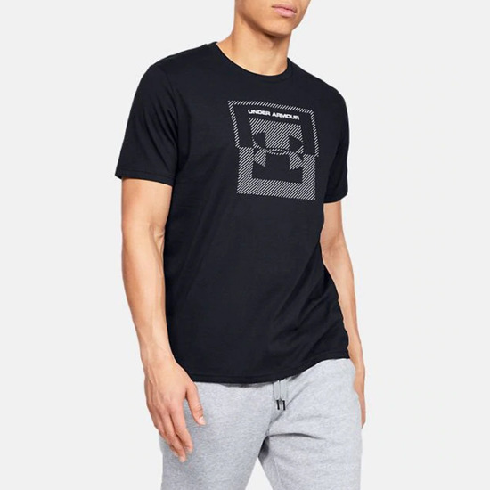 Koszulka męska Under Armour Inverse Box Logo 1344229 001