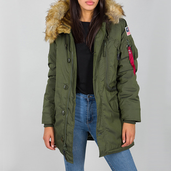 Kurtka damska Alpha Industries Polar Jacket 123002 257
