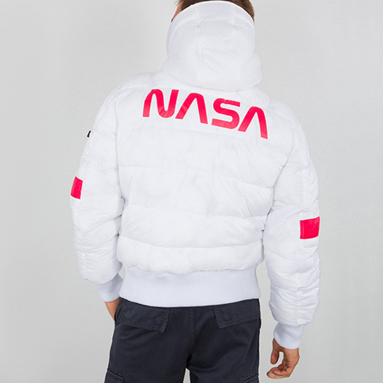 Kurtka męska Alpha Industries Hooded Puffer FD NASA 198121 09