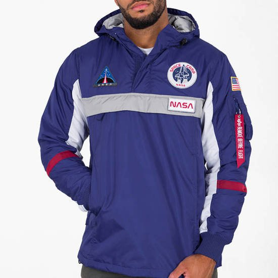 Kurtka męska Alpha Industries Space Camp Anorak 198132 453