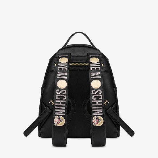Plecak Love Moschino Look At Me Doll JC4309PP08KQ0000 Nero