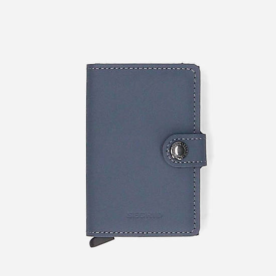 Portfel Secrid Miniwallet Matte MM-Grey-Black