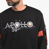 Bluza męska Alpha Industries Apollo 50 Reflective Sweater 198365 03