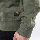 Bluza męska Carhartt WIP Military Mesh Pocket Sweatshirt I027720 DOLLAR GREEN