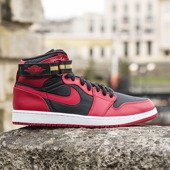 "Buty Air Jordan High Strap ""Bred"" 342132 002"