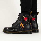 Buty Dr. Martens 1460 Black Rockabilly 24207001