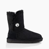 Buty damskie UGG Bailey Button Bling 1016553 BLK