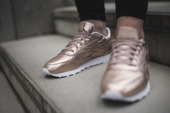Buty damskie sneakersy Reebok Classic Leather Melted Metal BS7897