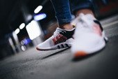 "Buty damskie sneakersy adidas Originals Equipment EQT Racing Adv ""Footwear White"" CQ2156"