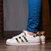 Buty damskie sneakersy adidas Originals Superstar 80s Animal S78955