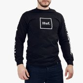 Koszulka męska Long Sleeve HUF Domestic TS00146 BLACK