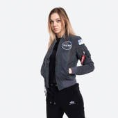 Kurtka damska Alpha Industries Ma-1 Nasa Rainbow Reflective 128005RR 572