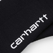 Skarpetki Carhartt WIP Grant Socks I026894 BLACK/FROSTED TURQUOISE/SAFETY ORANGE